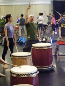 Mark H Rooney Introductory Taiko Workshop