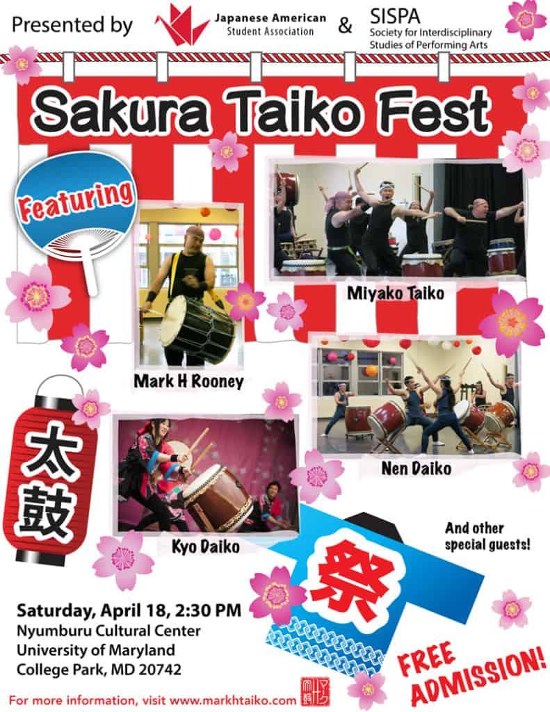 2015 Sakura Taiko Fest
