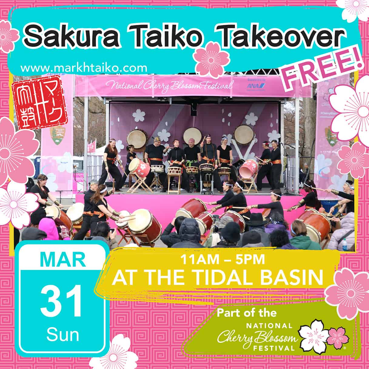 Sakura Taiko Fest 2019