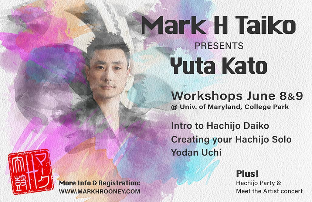 Mark H Taiko presents Yuta Kato