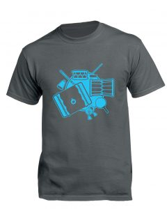 CONNECT 2020 t-shirt front (Charcoal)