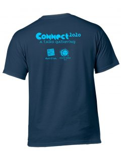 CONNECT 2020 t-shirt back